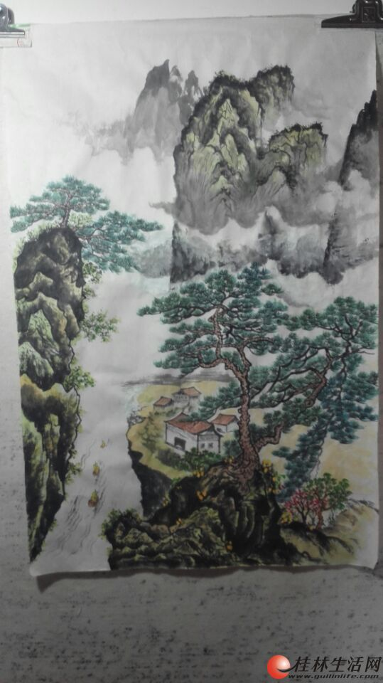 中国山水画专售Chinese Landscape painting for selling