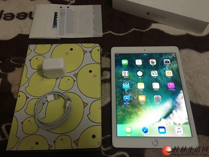 国行iPad Air2 银色128G 成色美丽在保到11月