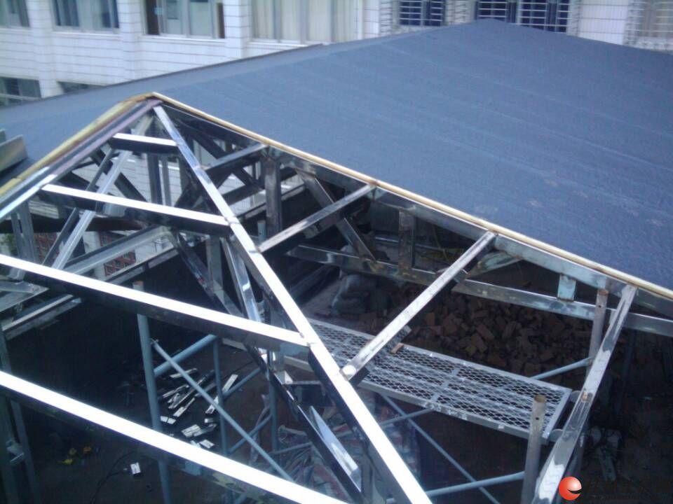 专业搭建顶楼加层活动板房、阁楼、阳光房