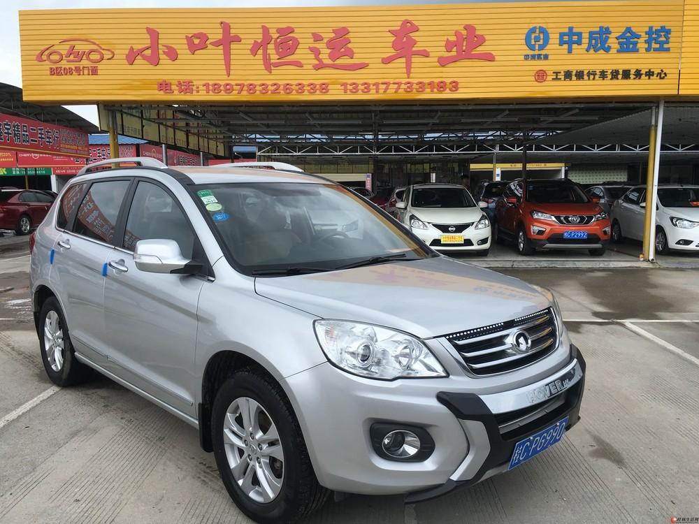 桂林私家一手车,2011年12月份上牌长城H6 升级版,才跑了48000公里