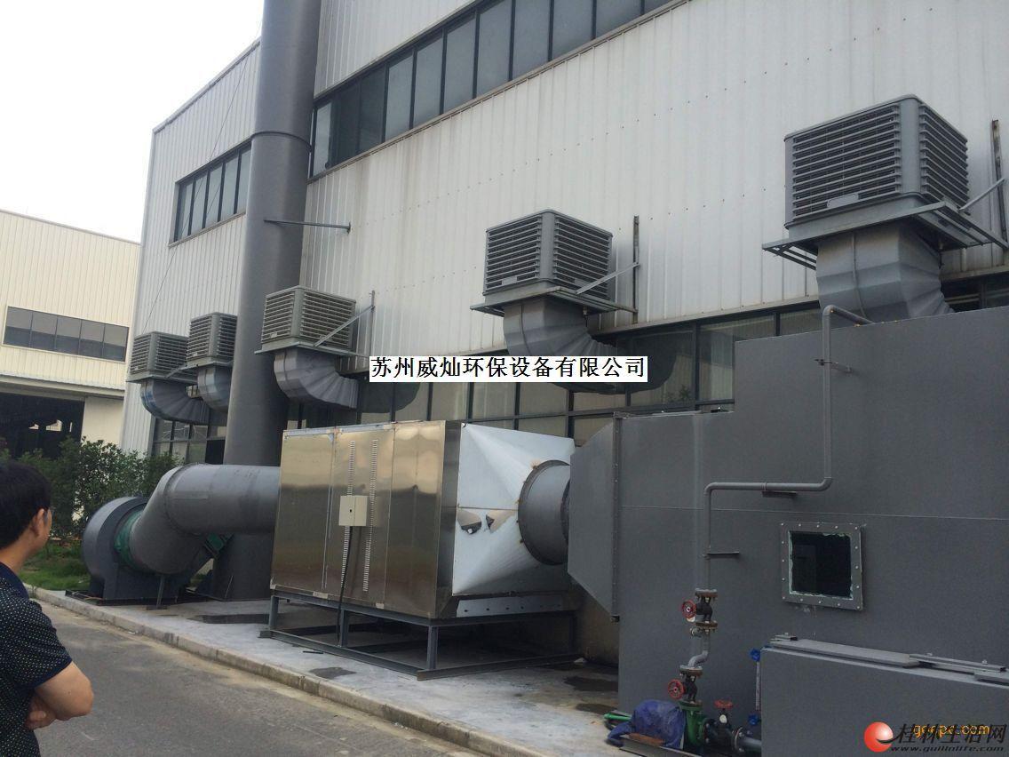 制药厂气体处理设备。