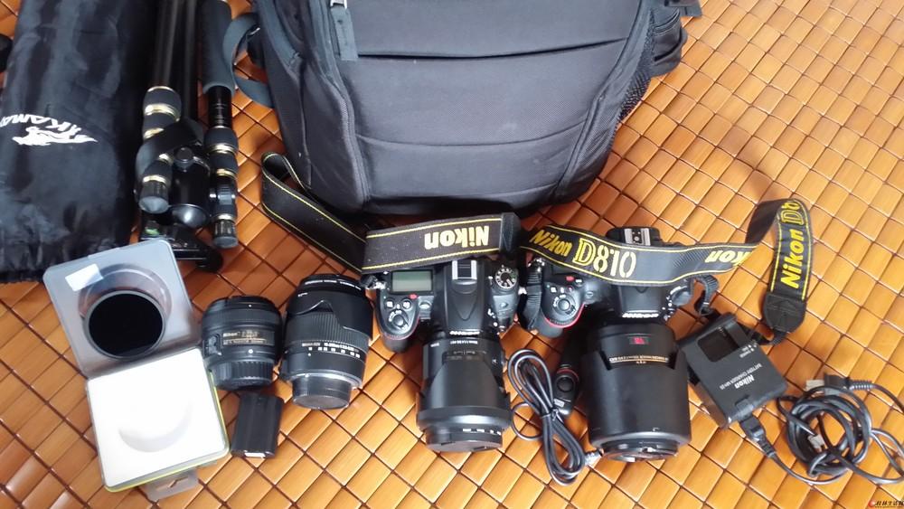 尼康D810  D7000及镜头