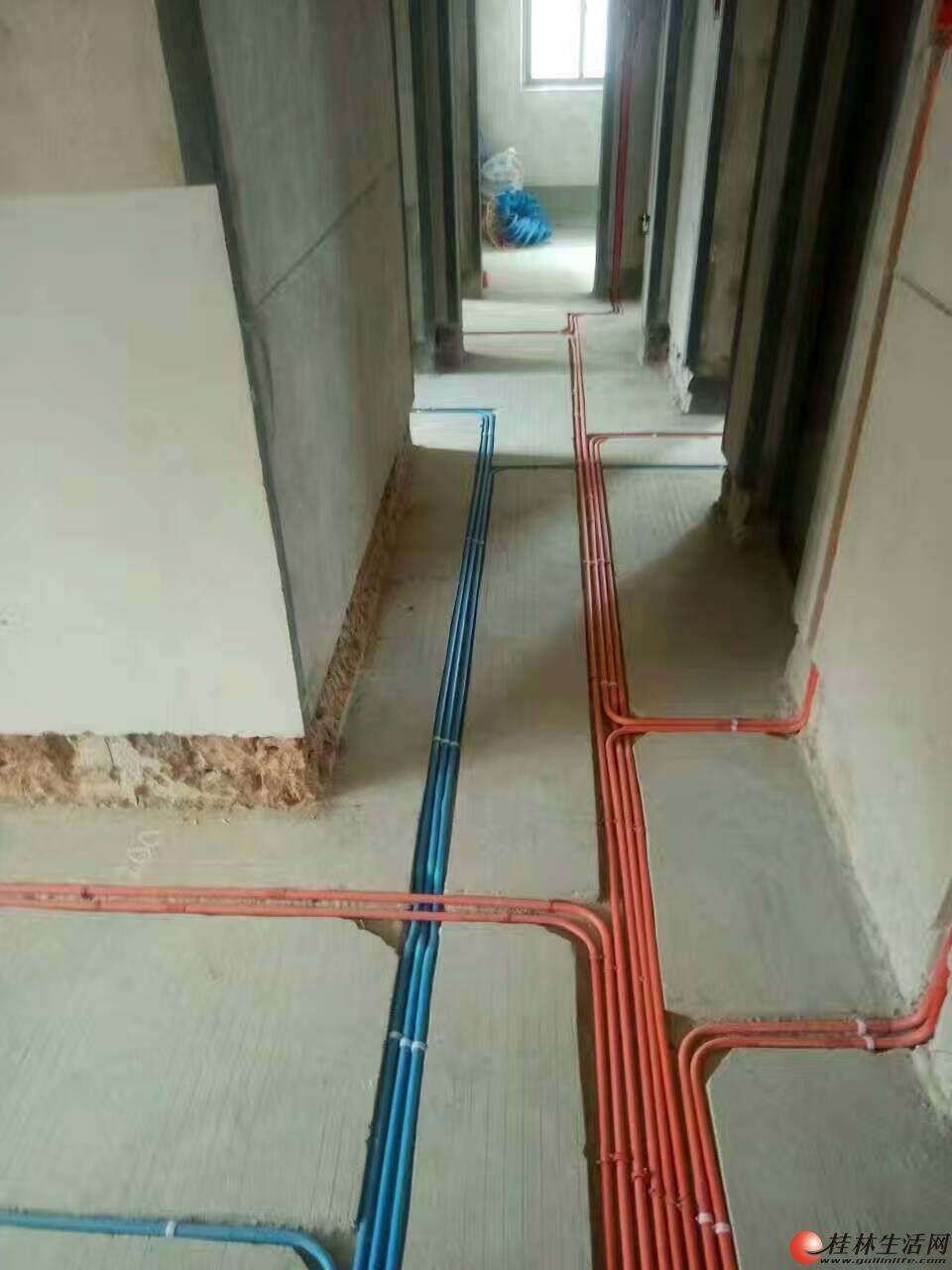 桂林专业水电安装、维修,点工
