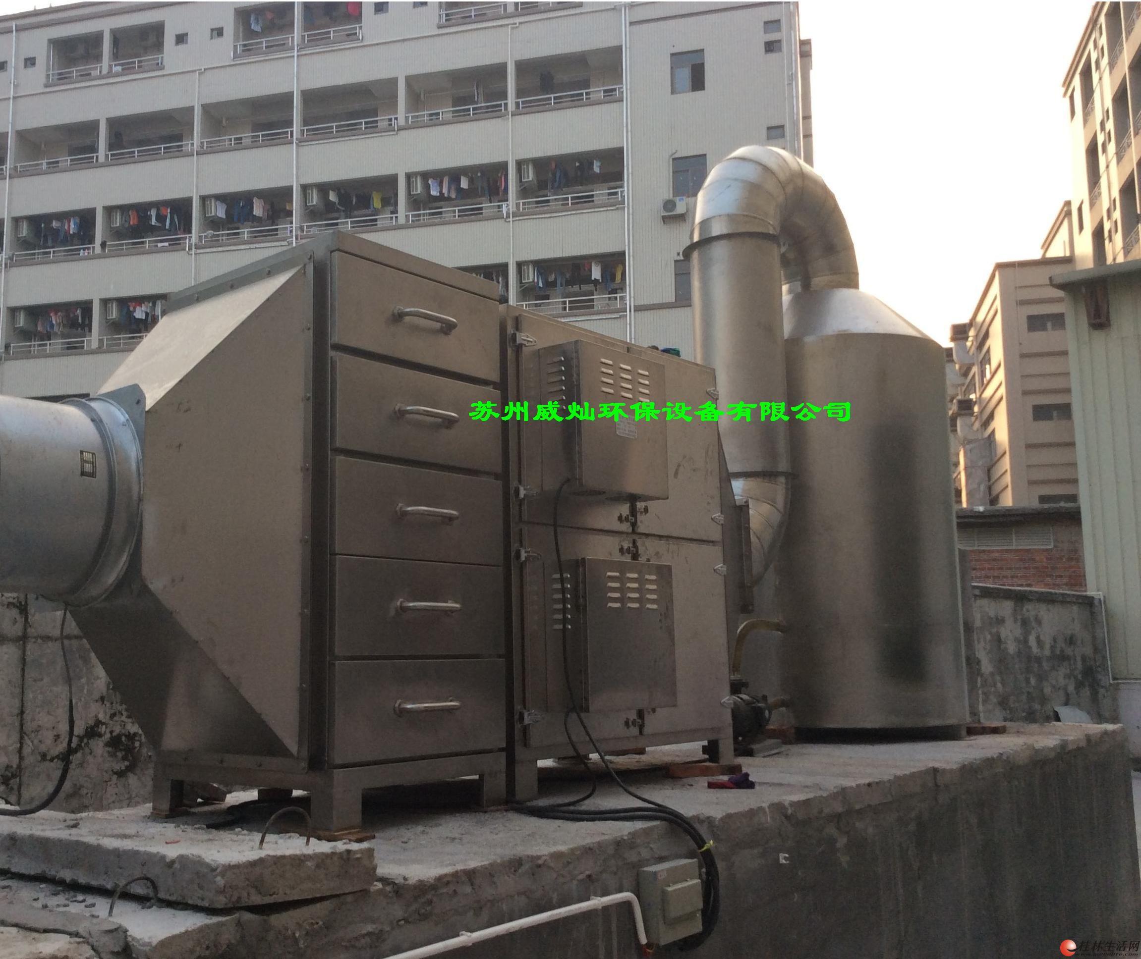 农药厂气体处理设备.
