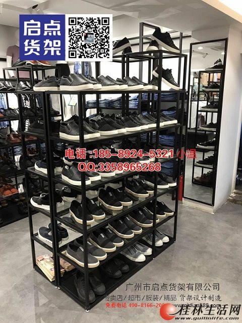 KM服装陈列货架的特点以及服装店陈列的三个基本点,商务男装货架,MZ男装货架