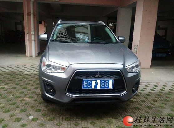 出售一台城市SUV越野车 15年2月的 三菱劲炫