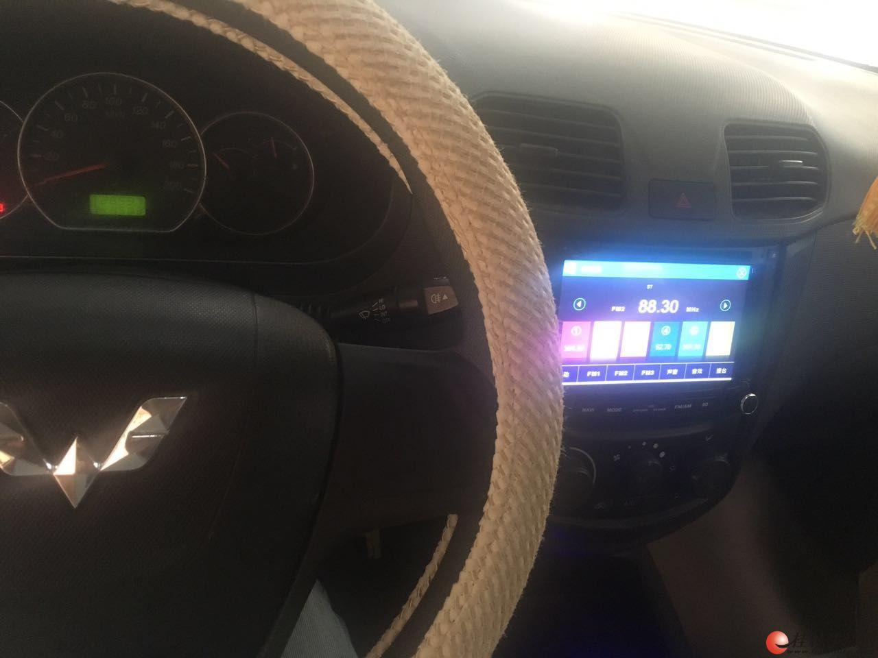 14款1.5L五菱宏光标配版 ABS 导航 倒车影像 空调 铝轮毂