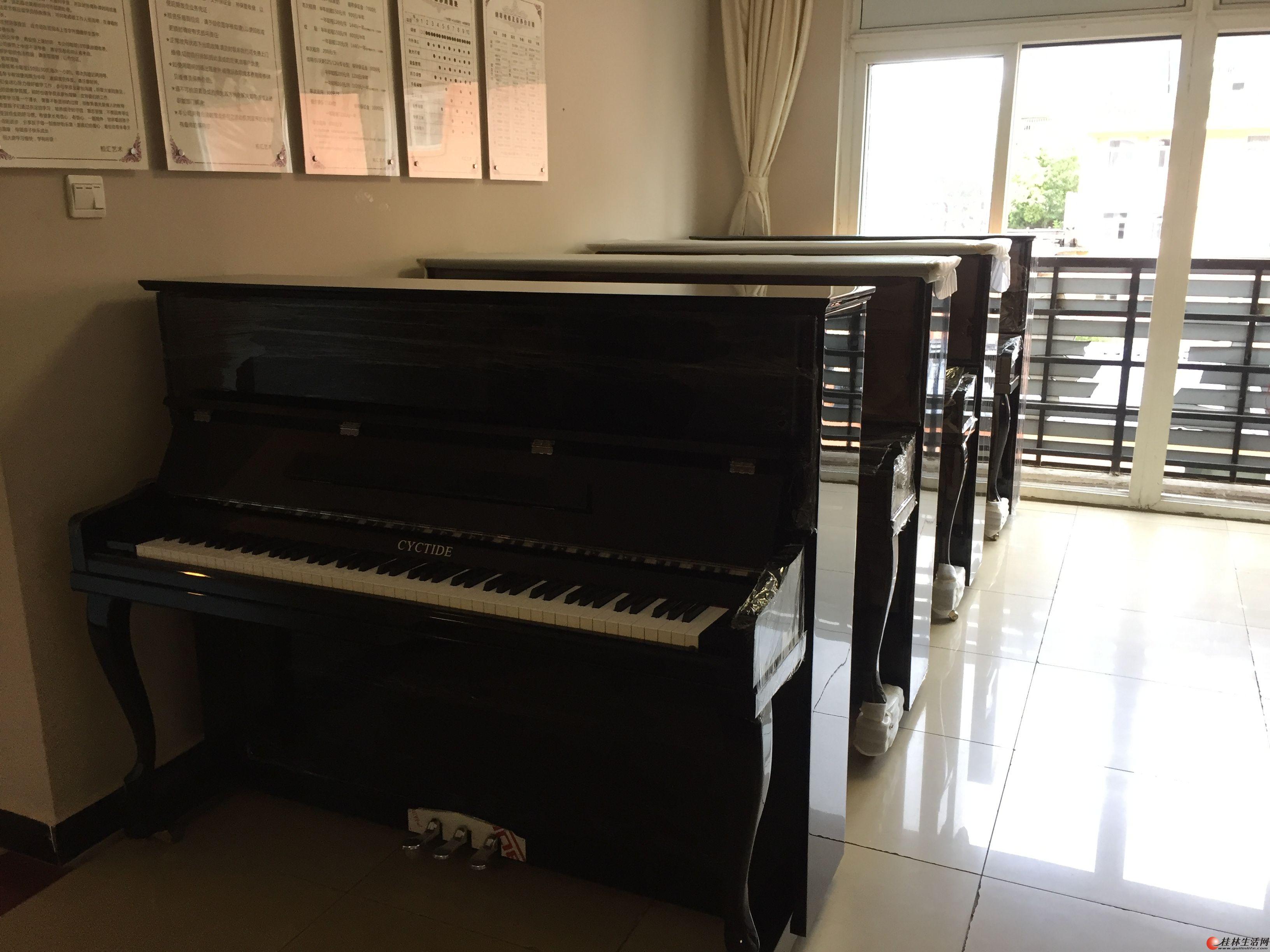 暑期钢琴,吉他培训,全新钢琴租赁