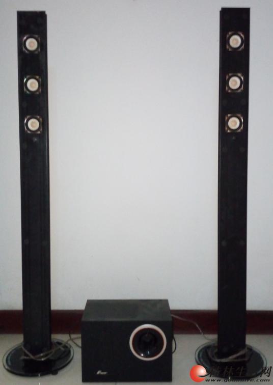 带落地式立柱音箱的三诺音响出售
