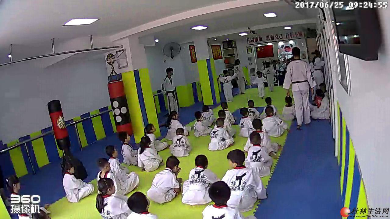 桂林跆拳道体验馆暑假免费开放,欢迎体验和学习
