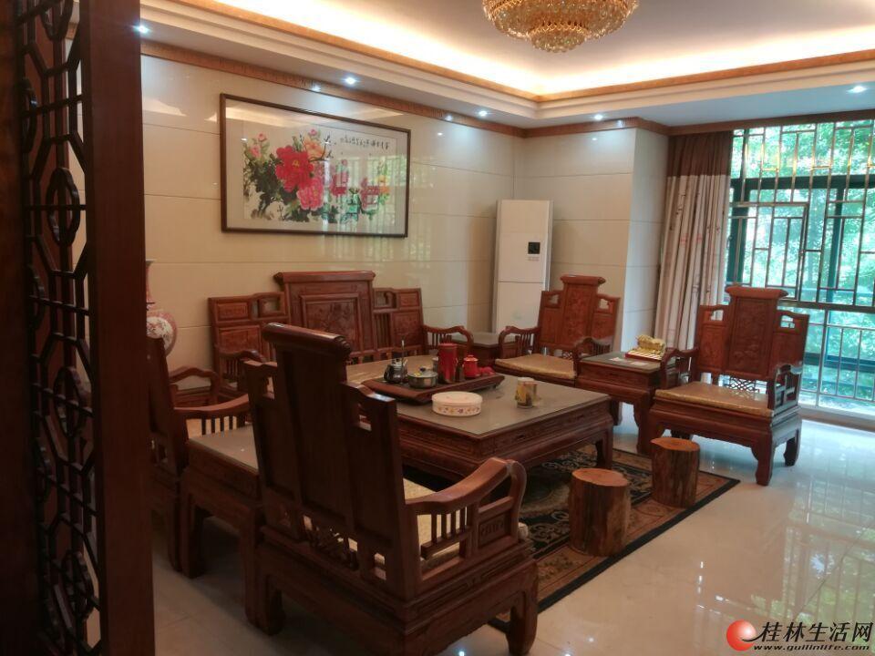 桃花江畔 高档小区半山阅江台3-4楼复式豪华中式装修带车位仅169万