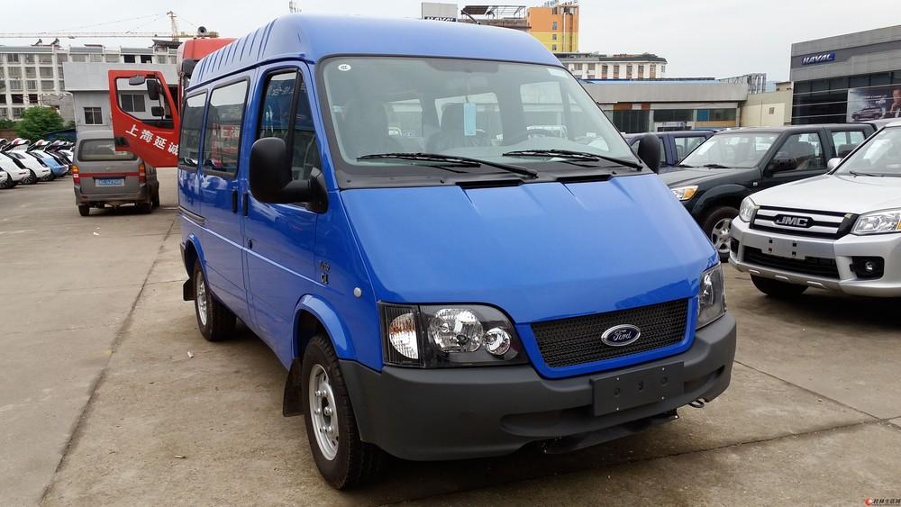 个人出售准新车福特全顺蓝牌多功能车