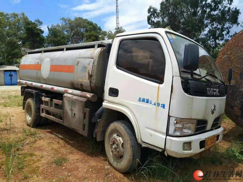 小油罐车(可装5吨左右柴油)低价出售 货车转让