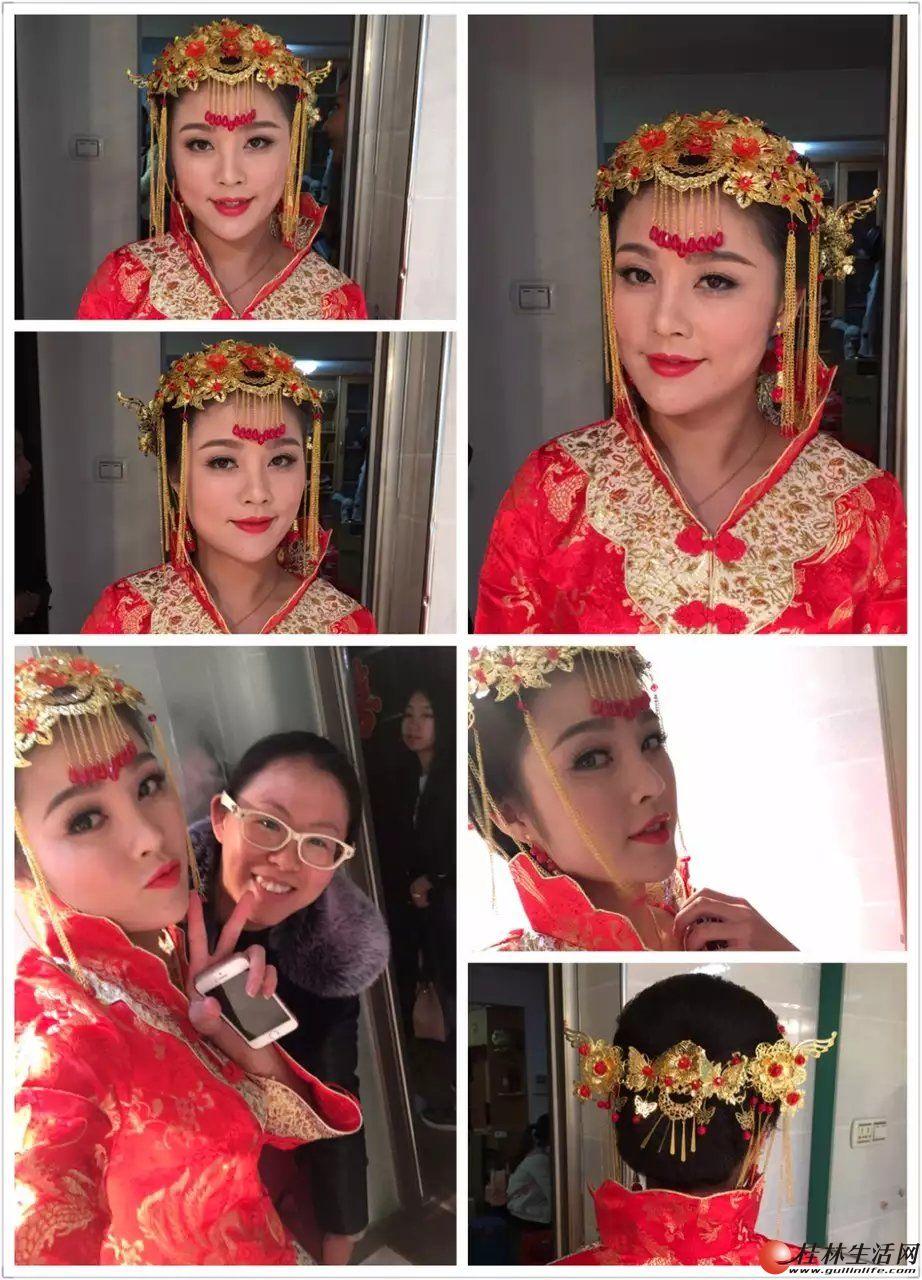 化妆演出找哪家化妆师好?桂林第六感新娘、演出化妆