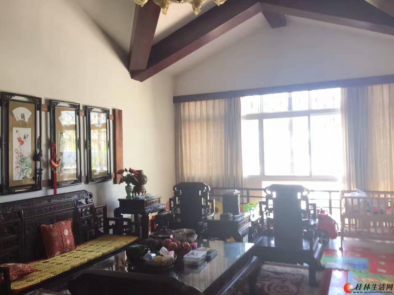 江景房虞山公园旁畔江花园稀缺房源180平米顶楼送阁楼+露台