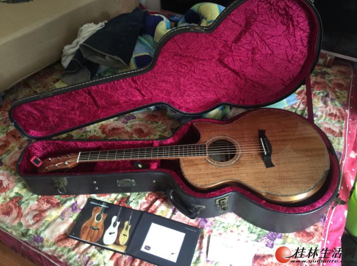 Maestro 美诗特Raffles-K 新加坡手工 相思木全单指弹吉他
