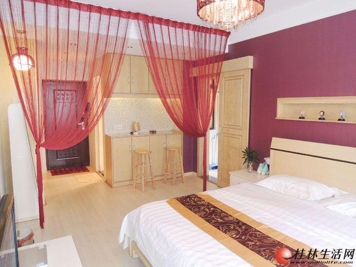 月租房---高档电梯公寓,家具电器及床上用品、无线网络、样样齐全(免中介)