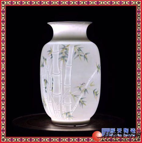 景德镇陶瓷客厅灯现代中式吊灯古典陶瓷灯具工程酒店餐厅灯