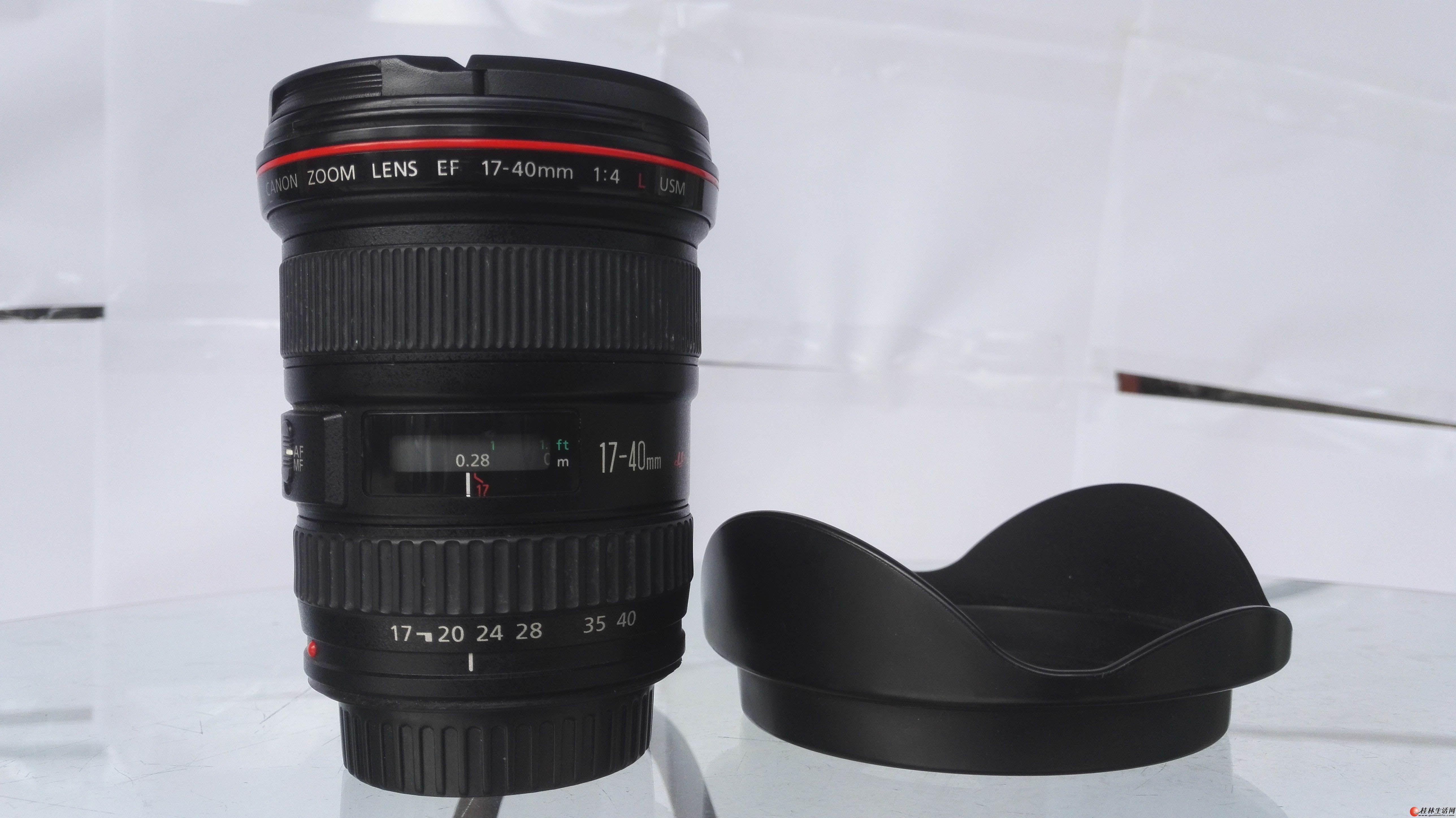 佳能EF 17-40mm f/4L USM    处理2600元