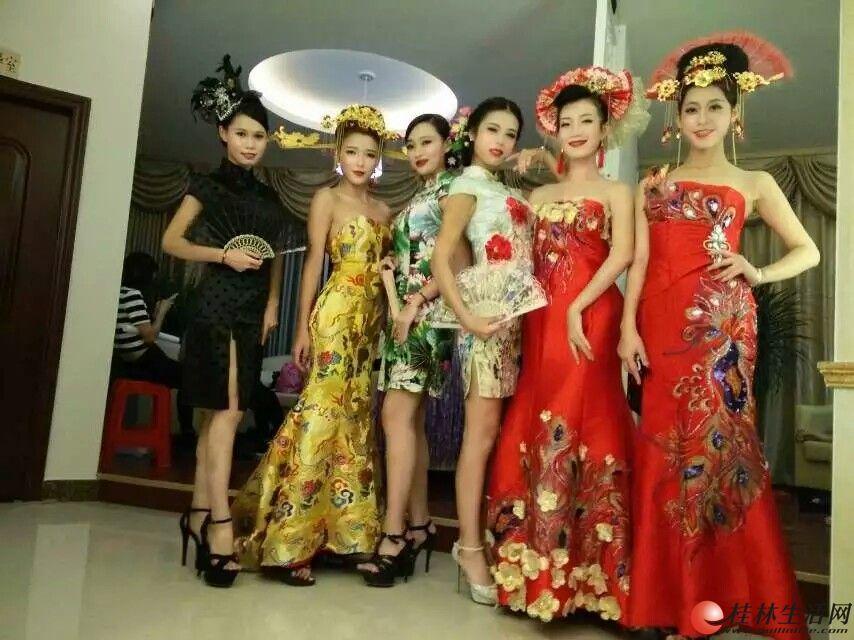 桂林80.90化妆跟妆,舞台妆,新娘妆,主持妆