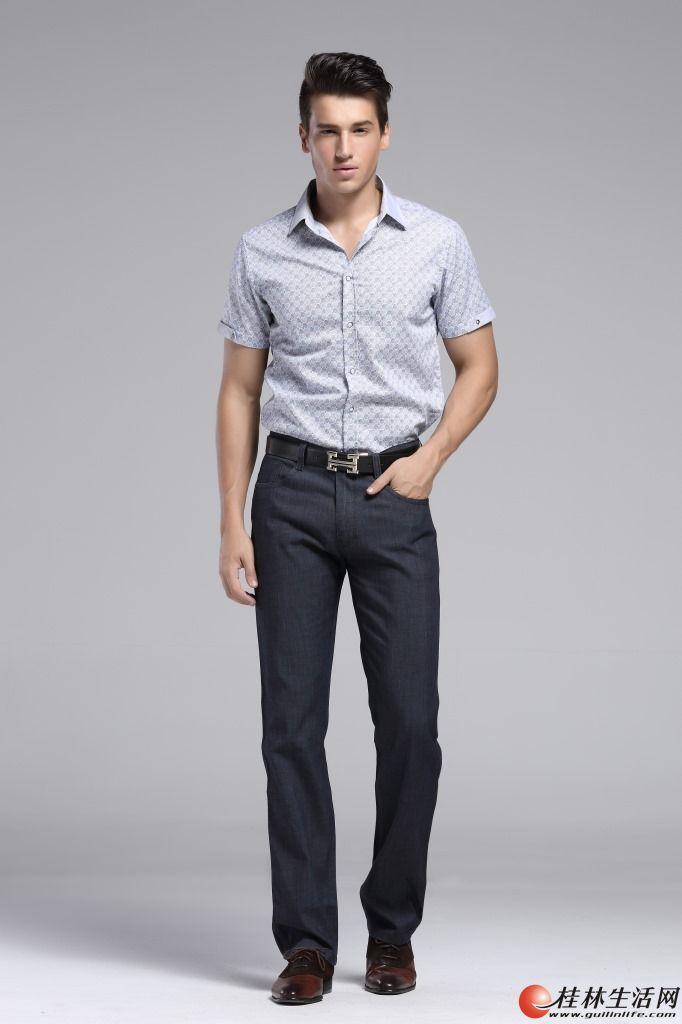 全新正品海澜之家男款夏薄款牛仔裤休闲裤