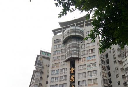 140平方米市中心百货大楼对面金马大厦可办公写字,居住楼出租。
