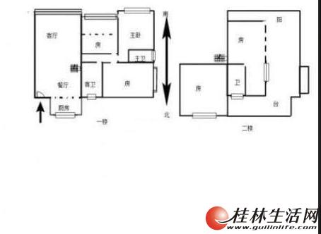 水晶城顶楼复式5房180平米 电梯12楼 带露台 阁楼85万
