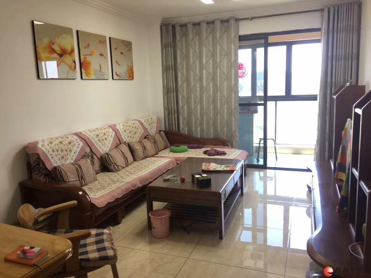 万达附近,漓江大美小区,2房送家电家具,超值。