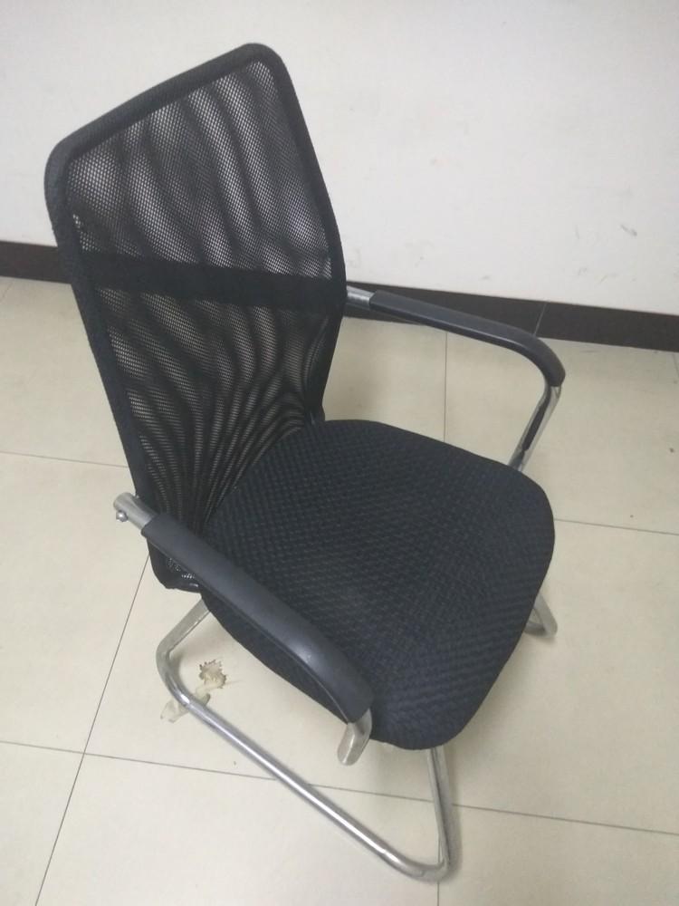 公司出售一批办公用品-黑背椅子新