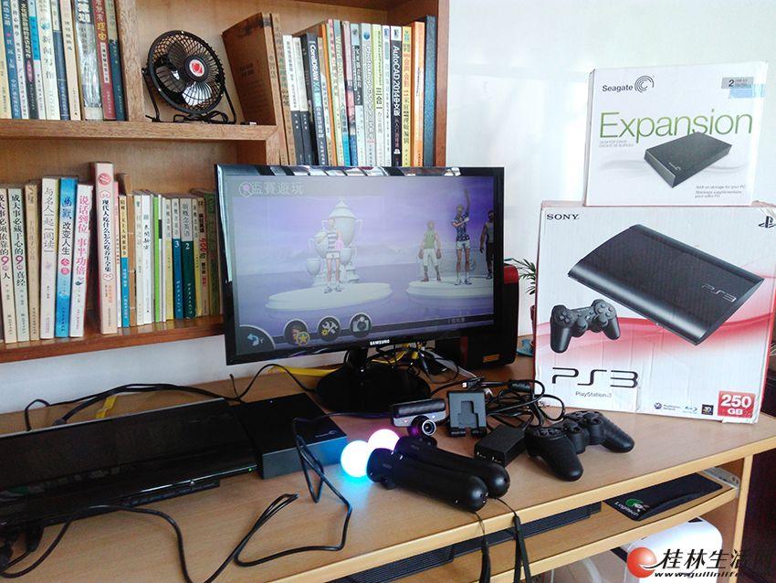PS3主机2499元(配存满游戏的超大2T硬盘,配原装体感手柄)