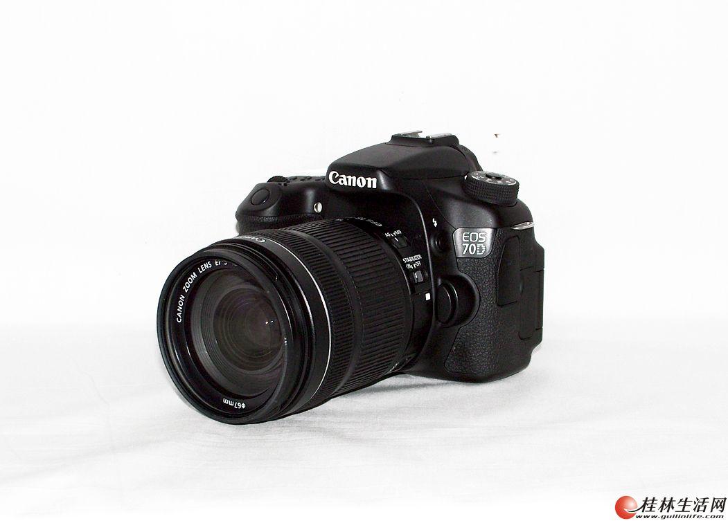出售全新佳能70D套机,配18-135佳能镜头,限桂林市区交易