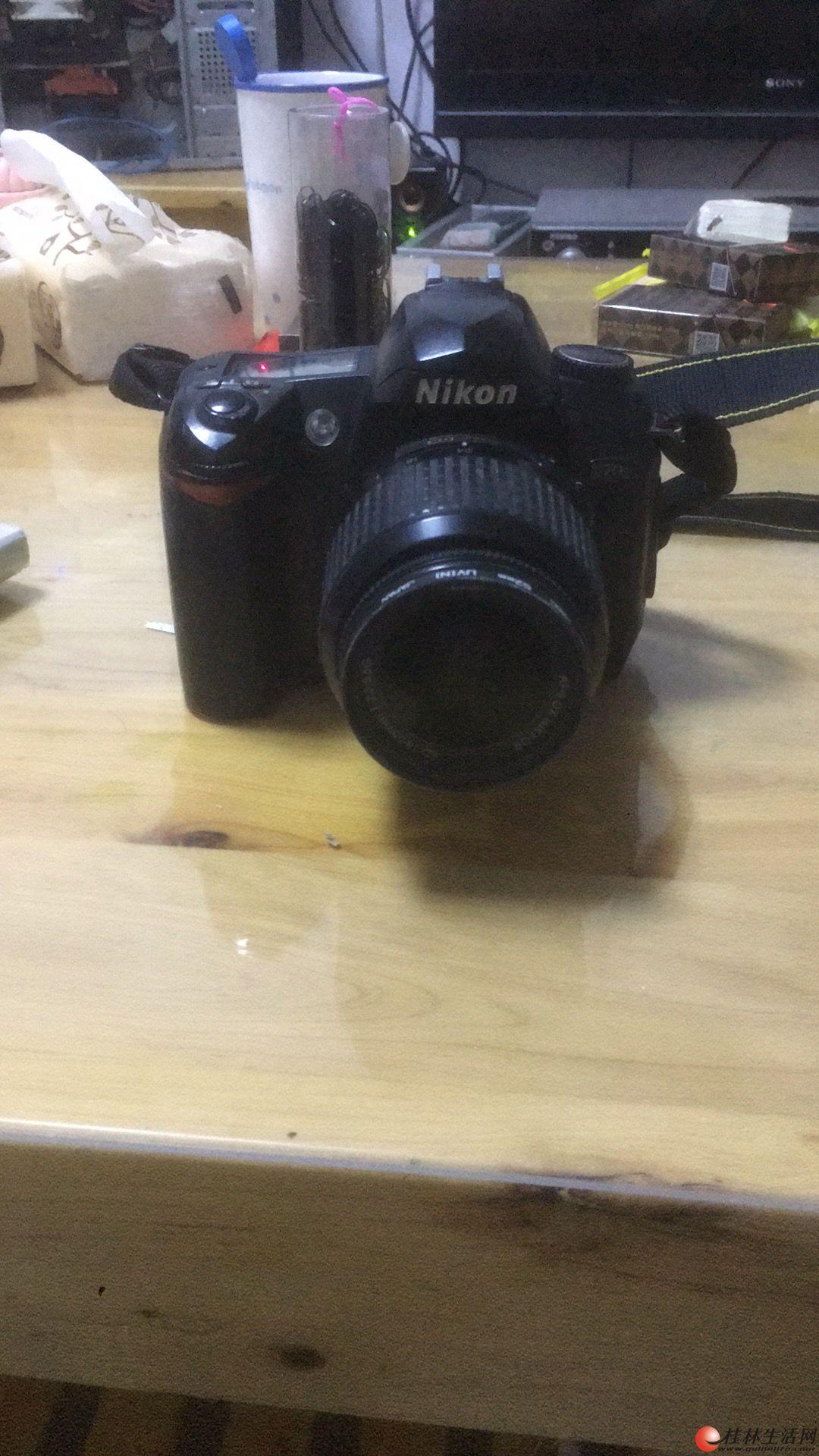 转让一部尼康单反相机,d70s