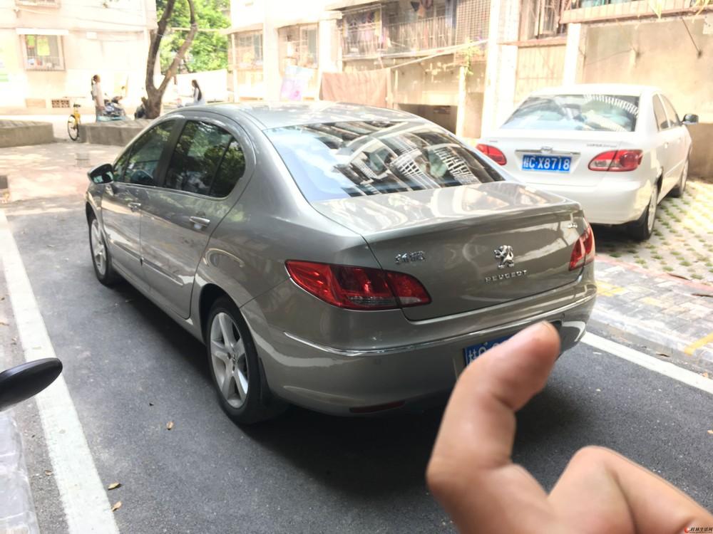 自己私家车2011款标致408 2.0自动挡