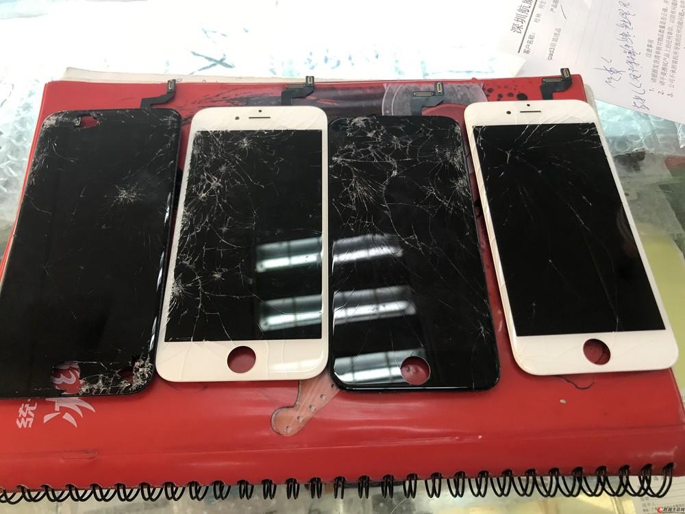 苹果手机爆屏修复 总成更换