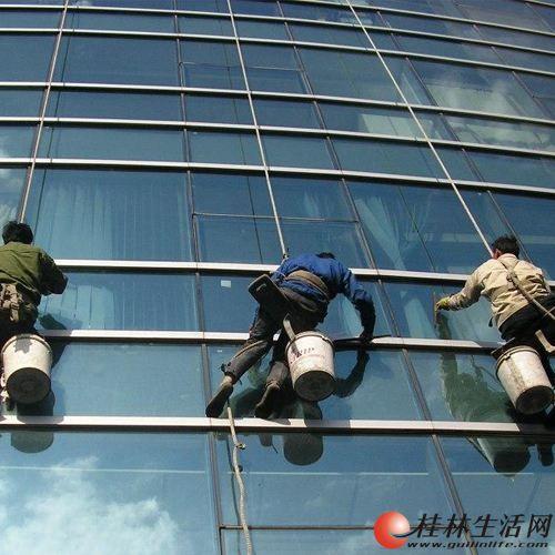 桂林市临桂外墙清洗、开荒保洁、地毯清洗、油烟机清洗公司