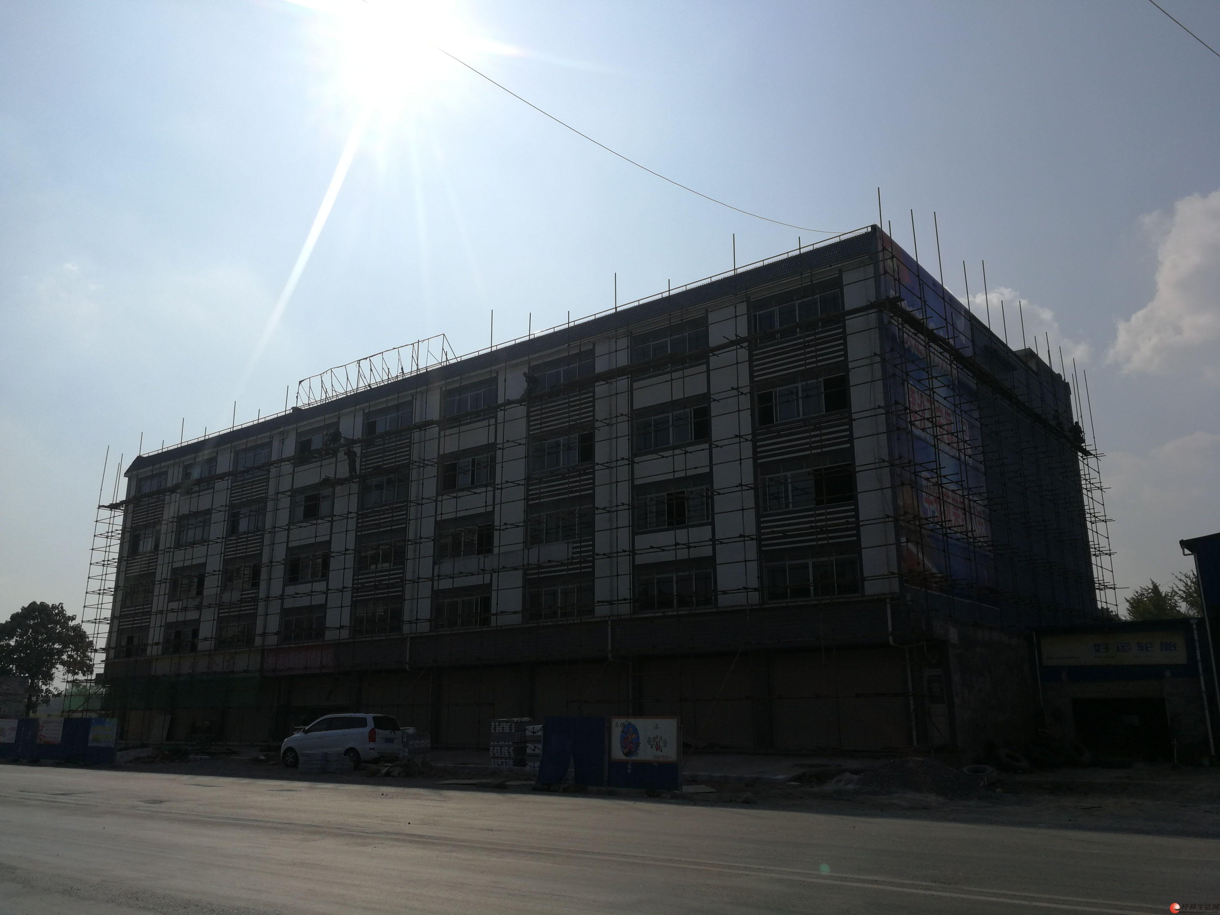 桂林灵川三街镇整栋大楼招租,招商