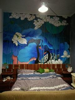 桂林专业墙体彩绘,家装墙绘,沙发、电视背景墙绘,幼儿园、儿童房墙绘、酒店宾馆墙绘