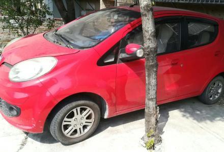 红色全车原漆的长安奔奔mini低价转让1.78万