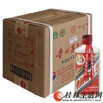 桂林回收贵州茅台酒,五粮液,水井坊,国窖1573,剑南春名酒