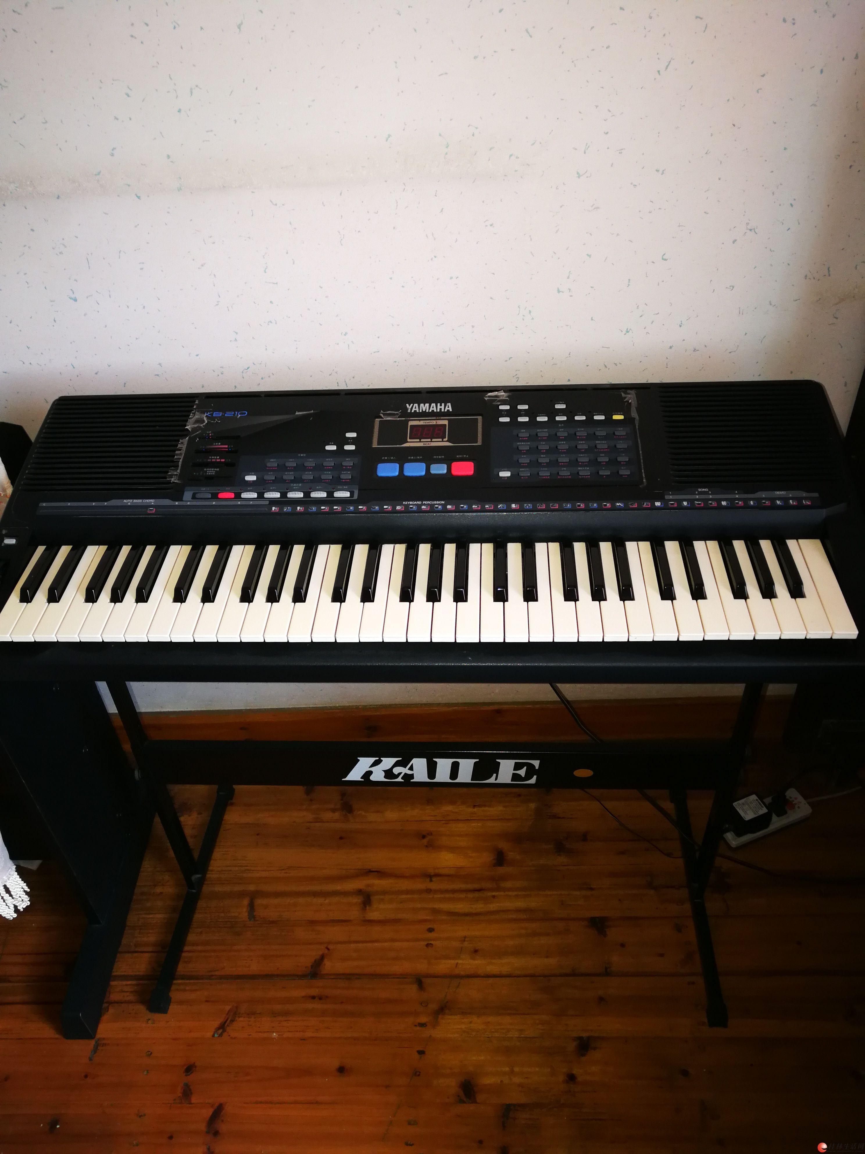 转让一台雅马哈KB210电子琴