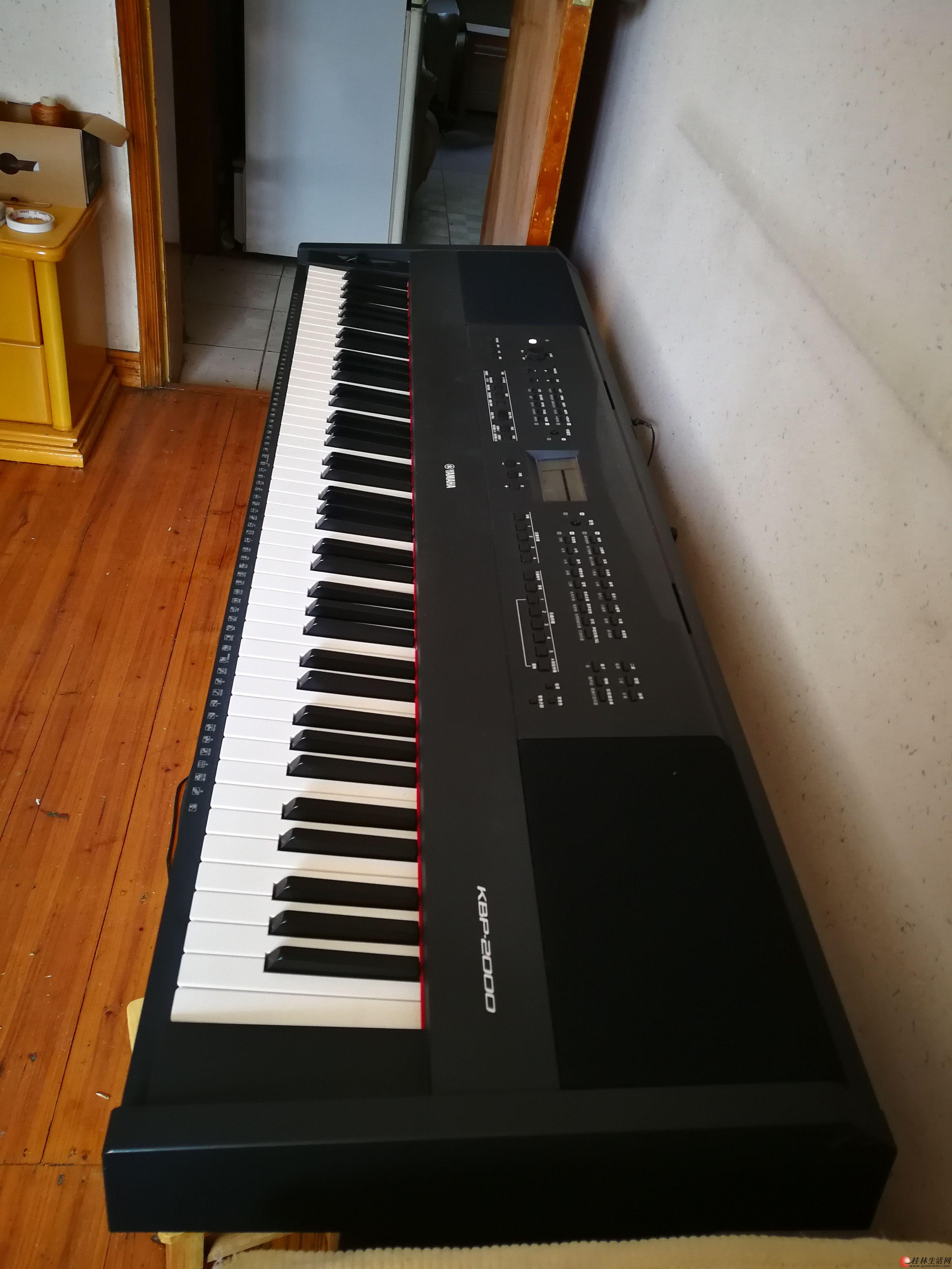 转让一台全新YAMAHA雅马哈电钢琴KBP2000