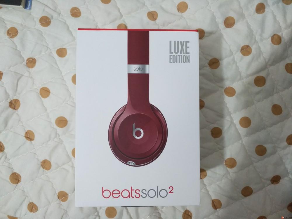 Beats Solo2 2.0头戴式耳机带麦手机线控耳麦B魔音