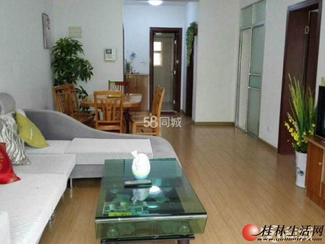 M家具家电全齐,公园绿涛湾 2300元 2室2厅1卫 精装修