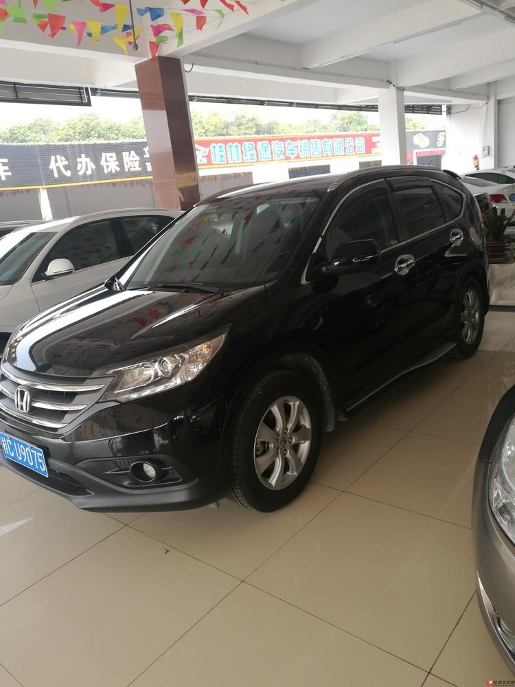 新款本田CRV.桂林本地一手车