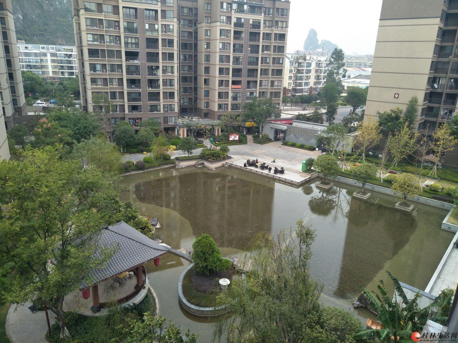L悠山郡 1楼带30平的花园 赠送面积高 123平100万