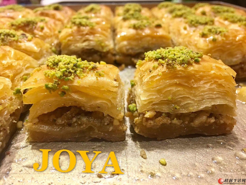 土耳其大厨亲自制作各式糕点甜点