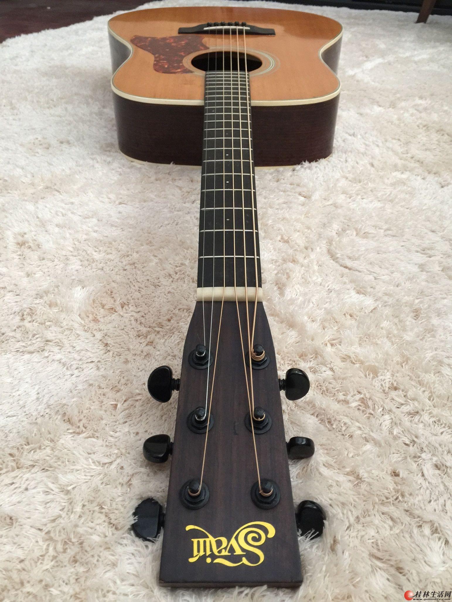 雅伊利YD90全单吉他~~~~半价转~~~~~~~~