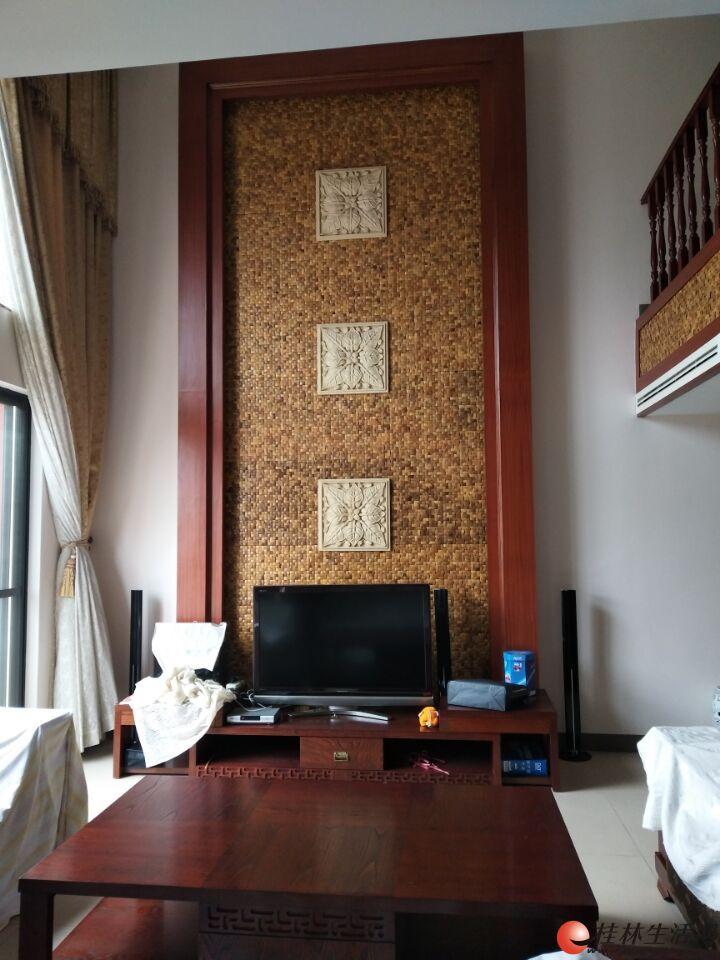 彰泰鸣翠新城 全新豪装挑空复式 从没入住 全新名牌家电家具+中央空调+200升恒热热水器