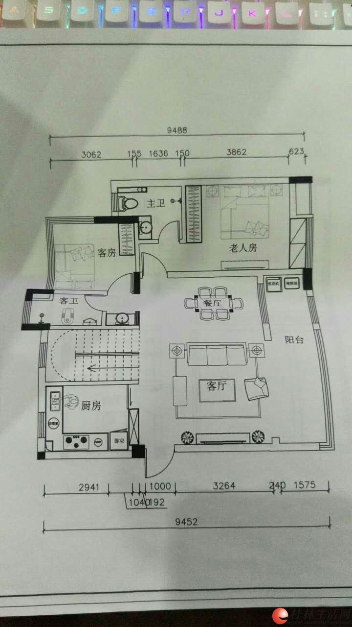 林溪府三层复式270平米办公·影楼·会所出租