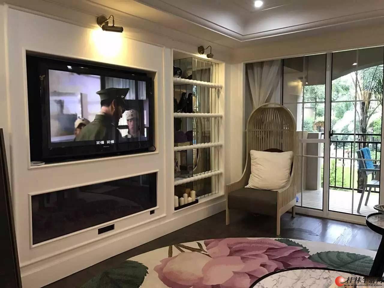 万达商圈 彰泰兰桥圣菲豪装三房 小区中心位置 送家电家具仅需1